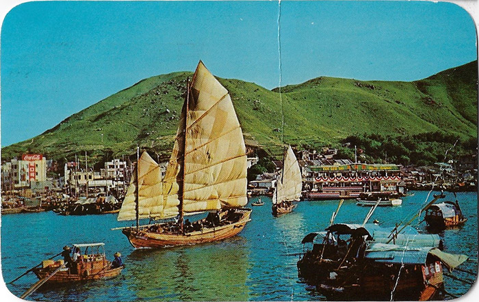 MARK WATSON MARK WATSON POSTCARD from the past, Podcast from the Past, Tom Jackson, Hing Kong