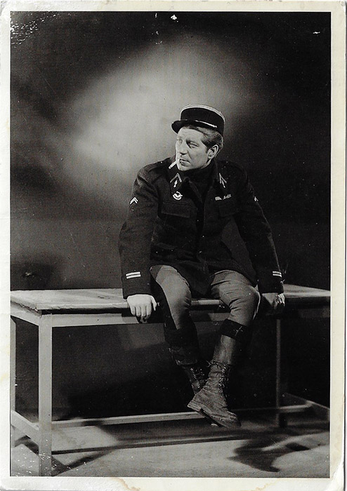 Jean Gabin in Le Grand Illusion, Tom Jackson Podcast from the Past,